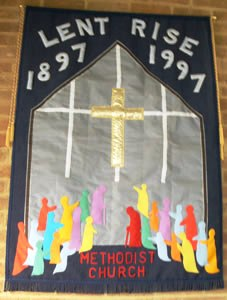 Banner for the chapel centenary!