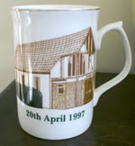 Picture on the centenary mug