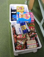 Food collected for Slough Food Bank