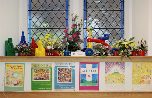 Display by the Mums and Toddlers Group