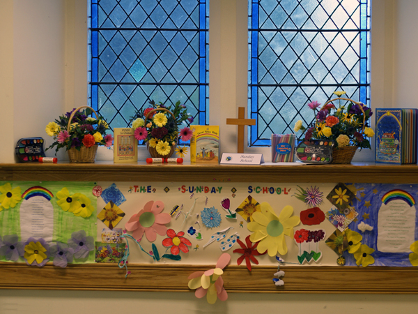 Display by Sunday School