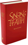 Cover of the hymnbook Singing the Faith