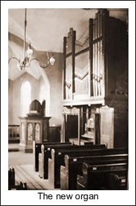 The new organ in place, 1914