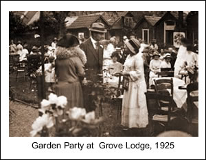 Garden Party at Grove Lodge 1925