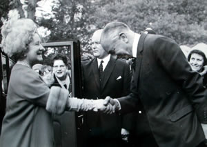 Queen Mother's visit 1967