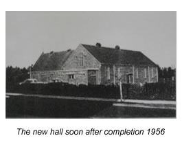 New Hall in 1956