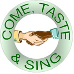 Come, Taste and Sing logo